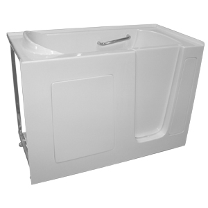 Hd series 2653 hydro dimensions 888 818 7111 for Walk in tub water capacity