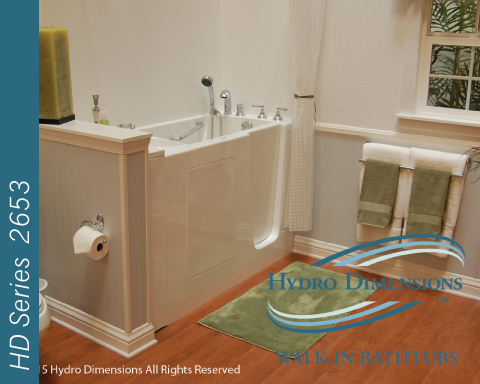 Hydro Dimensions 2653 Walk-in Tubs
