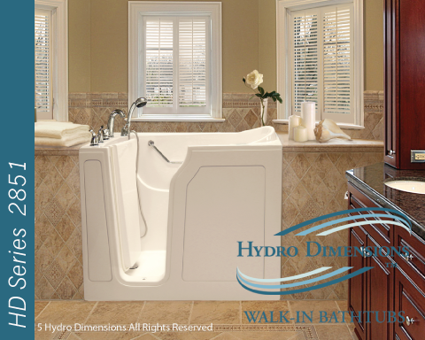Hydro Dimensions 2851 Walk-in Tubs