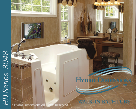 Hydro Dimensions 3048 Walk-in Tubs