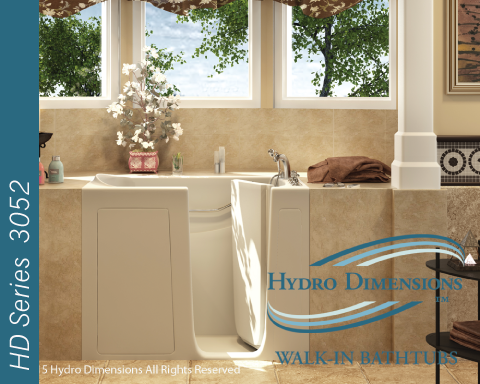 Hydro Dimensions 3052 Walk-in Tubs