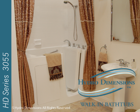 Hydro Dimensions 3055 Walk-in Tubs