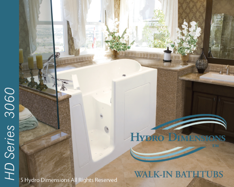 Hydro Dimensions 3060 Walk-in Tubs