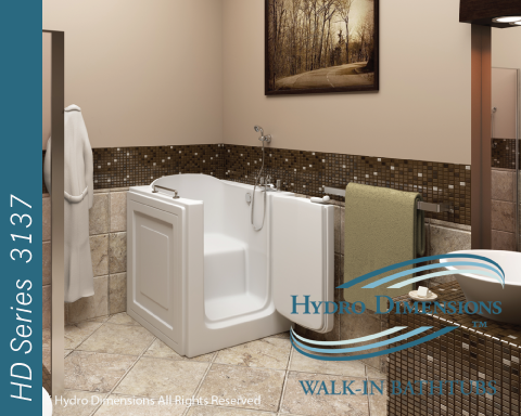 Hydro Dimensions 3137 Walk-in Tubs