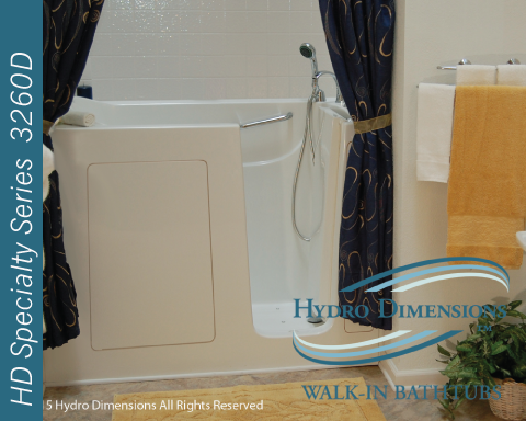 Hydro Dimensions 3260D Walk-in Tubs