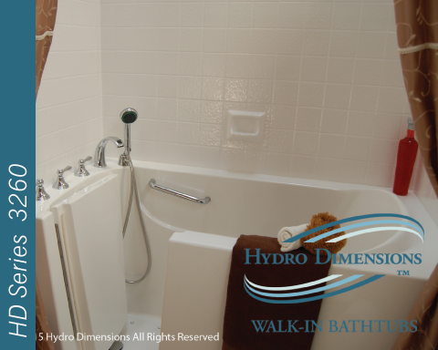 Hydro Dimensions 3260 Walk-in Tubs