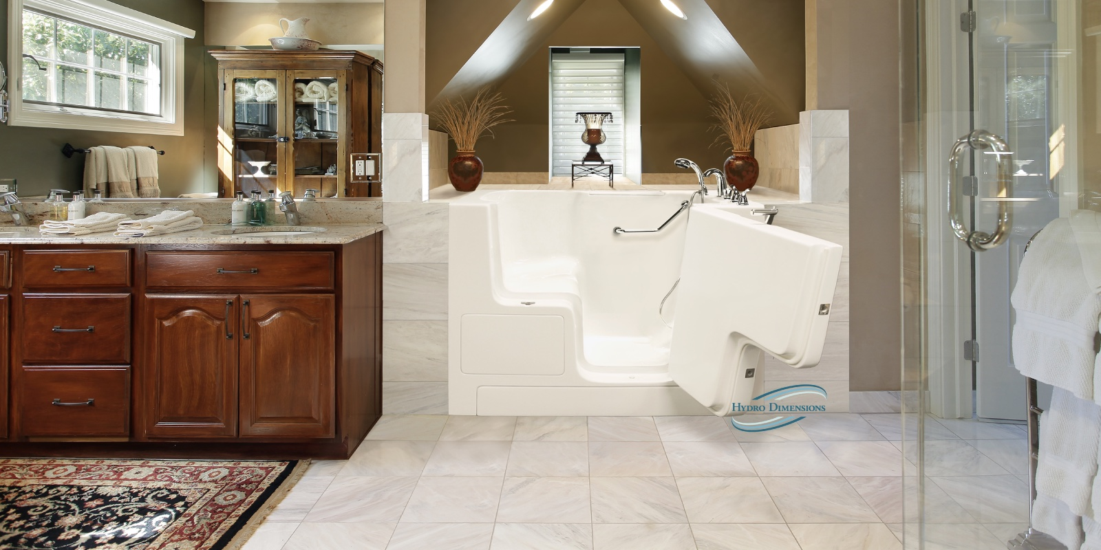 Hydro Dimensions Walk-in Tubs - Handcrafted in the US - Call (888 ...